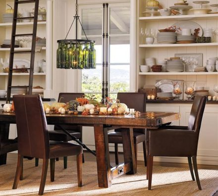 "5 ""Winter Wonderful"" Dining Room Ideas"