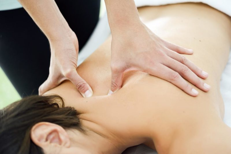 Do Your Back a Favor and Get a Massage!