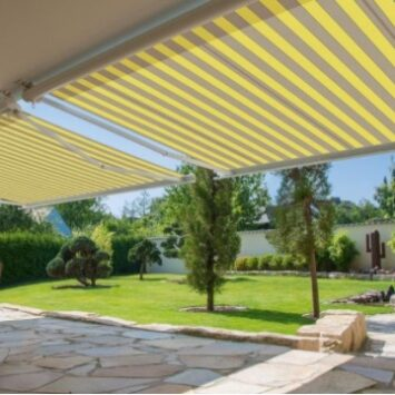 What Are the Benefits of A Garden Awning?